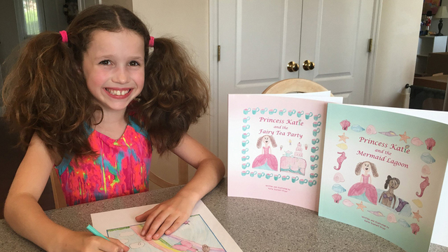 The Adorable Young Author Behind The 'Princess Katie' Kid's Books