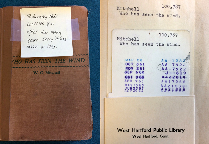 After 52 Years, An Overdue Library Book Is Returned With An Apology