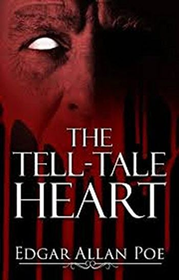 The Tell Tale Heart Edgar Allan Poe book cover book cakes