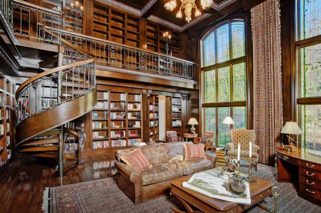 VIDEO: Home Library Interior Design