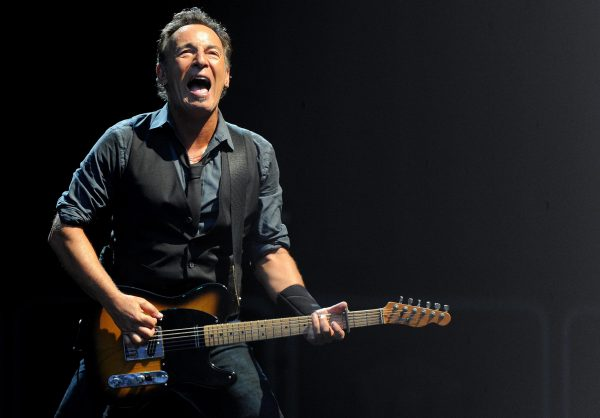 US singer Bruce Springsteen, performs on stage during his concert with the E Street Band at the Giuseppe Meazza stadium in MIlan Italy, 07 June 2012. ANSA/DANIEL DAL ZENNARO