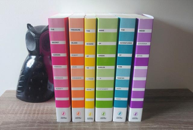 Read The Rainbow: Classic Books In Rainbow Colors Will Brighten Your Bookshelf