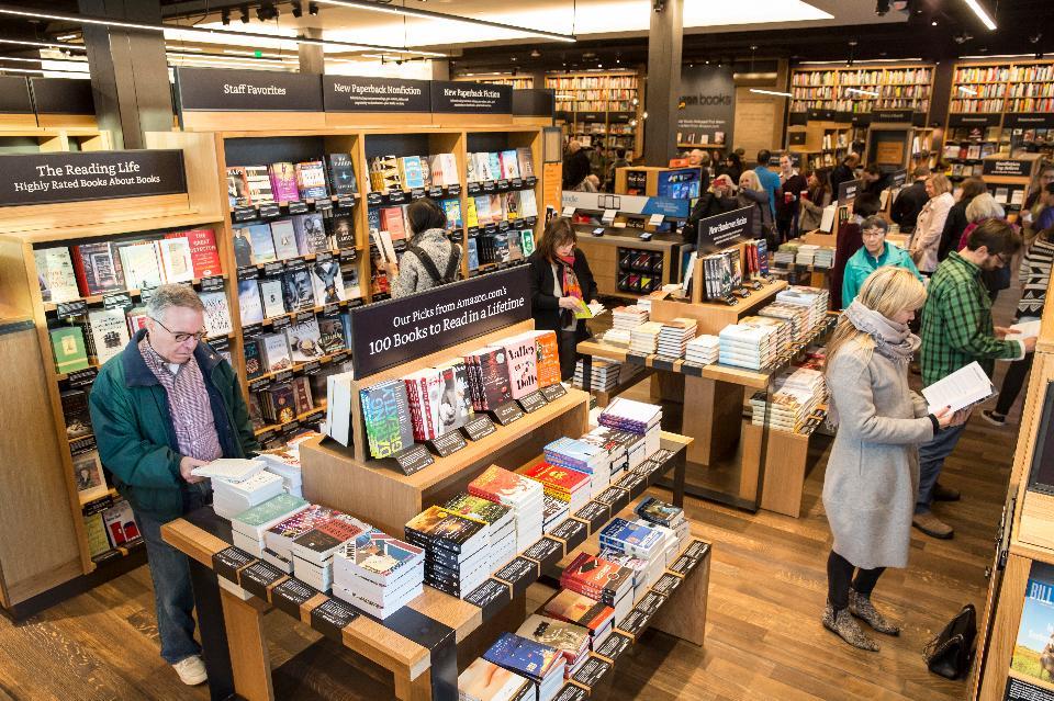 VIDEO: Amazon Bookstore – Virtual Tour in Seattle