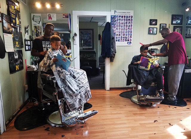 Books At The Barber: A Cutting-Edge Deal!