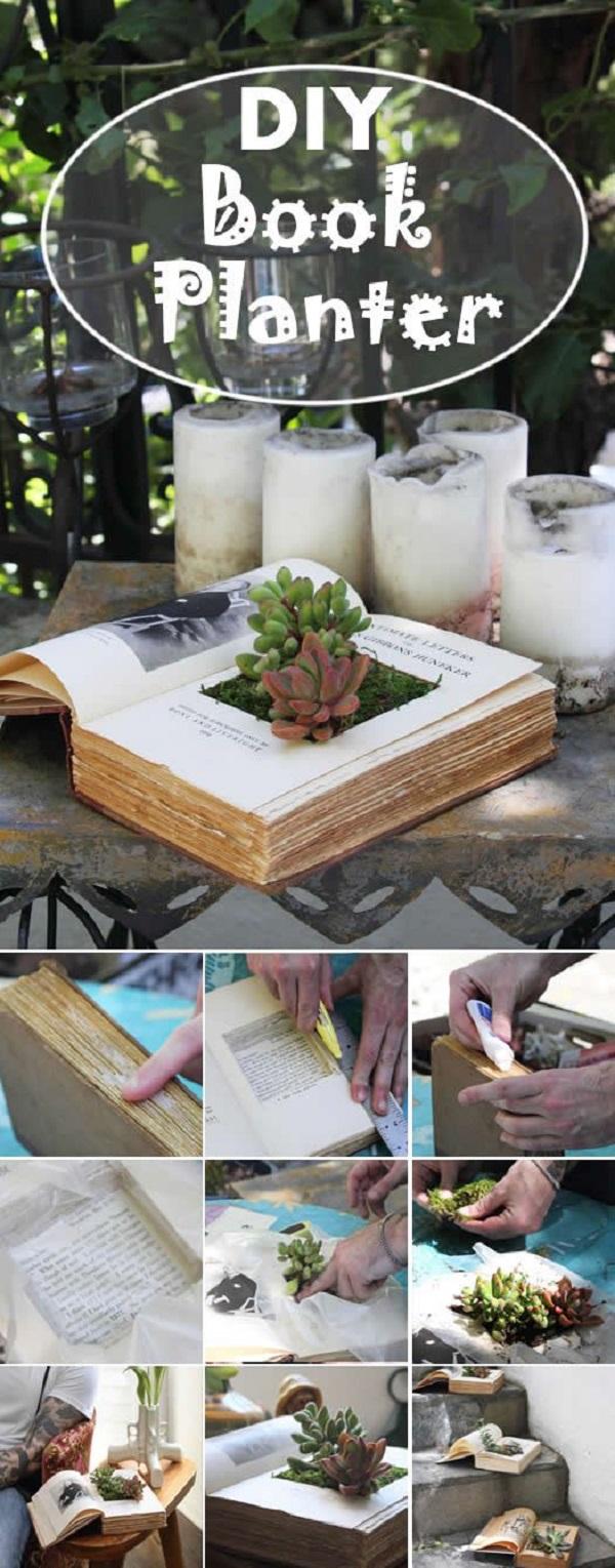 book-planter