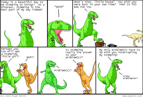 Source: Dinosaur Comics