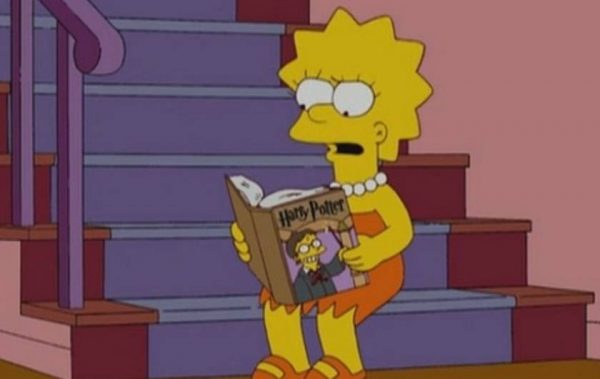 Harry Potter the Simpsons