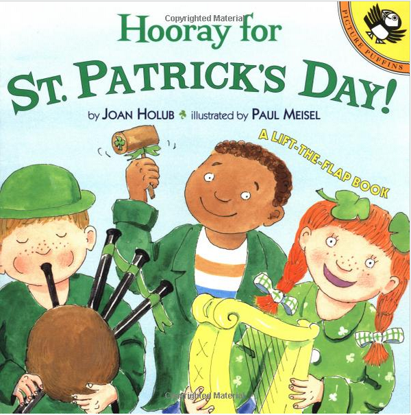 Hooray For St. Patrick's Day Lift-the-Flap Book Joan Holub