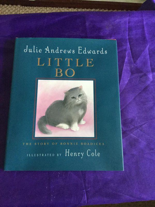 julie-andrews-edwards-signed-book-little-bo