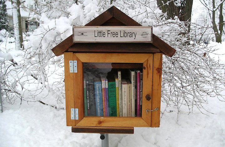 Take a Book, Leave a Book: The Little Free Library Movement
