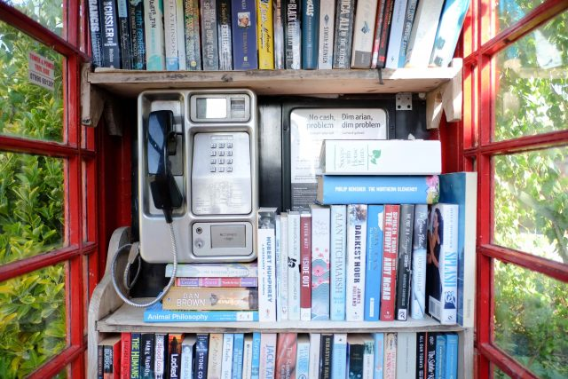 You Won't Believe How London Is Revamping Phone Booths For Book Lovers!