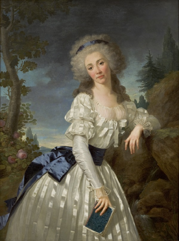 Portrait of a Lady with a Book