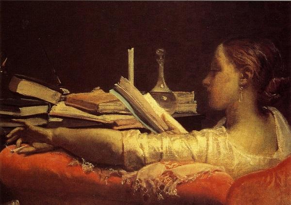 Reading (Clara)