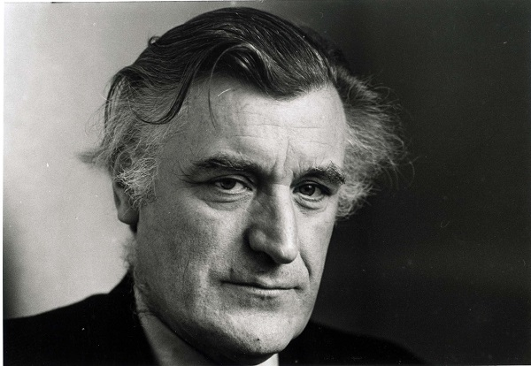 The late poet laureate, Ted Hughes