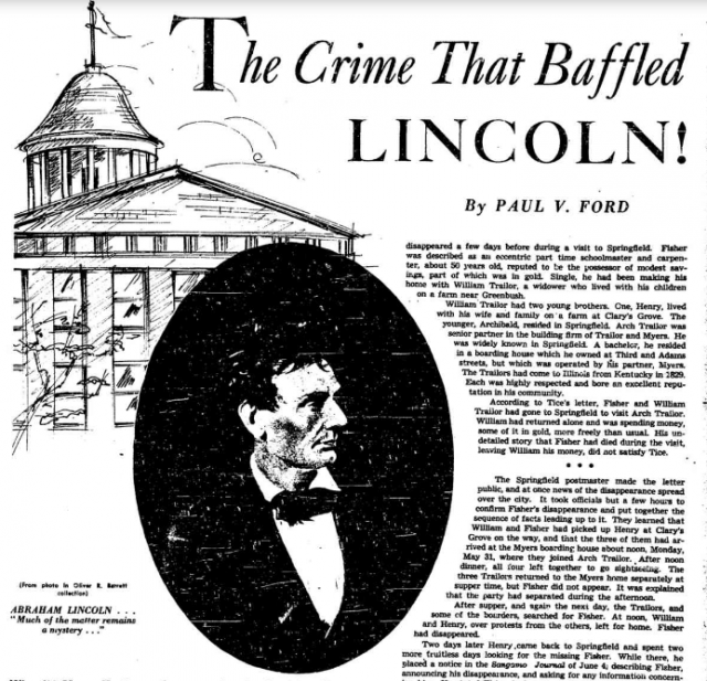 Abraham Lincoln Wrote A Murder Mystery – And It's Actually Pretty Good!