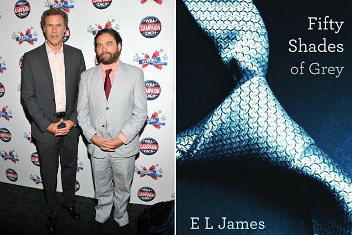 VIDEO: Will Ferrell & Zach Galifianakis Read '50 Shades of Grey'