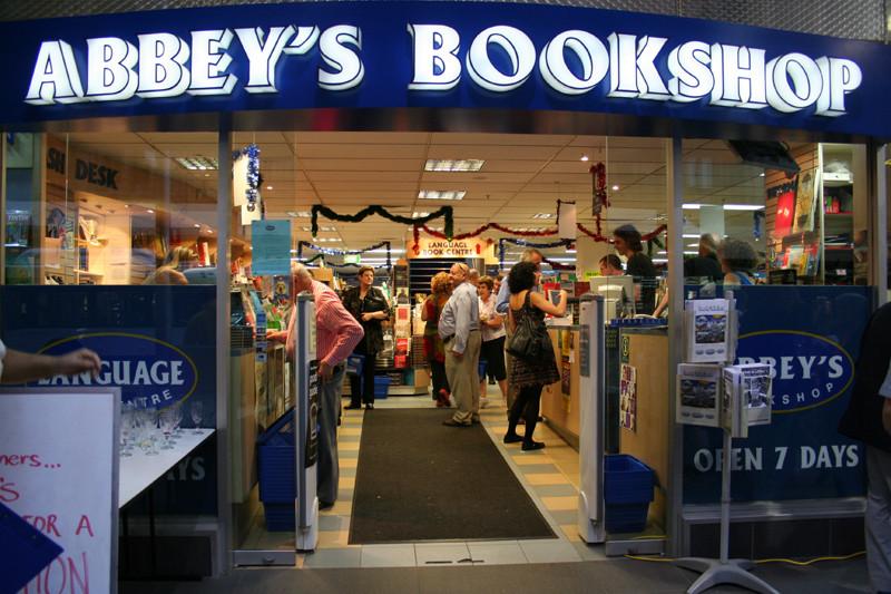 VIDEO: Bookshop   Abbey's Bookshop   Sydney, Australia