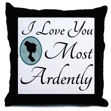 austen_quote_love_you_ardently_throw_pillow