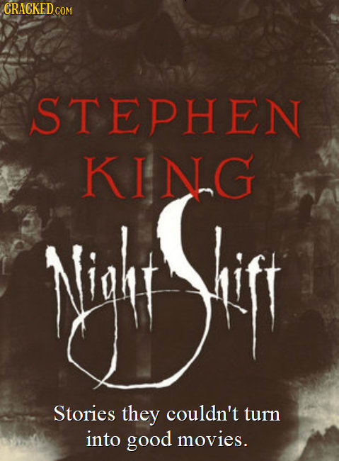 Stephen King night shift book covers