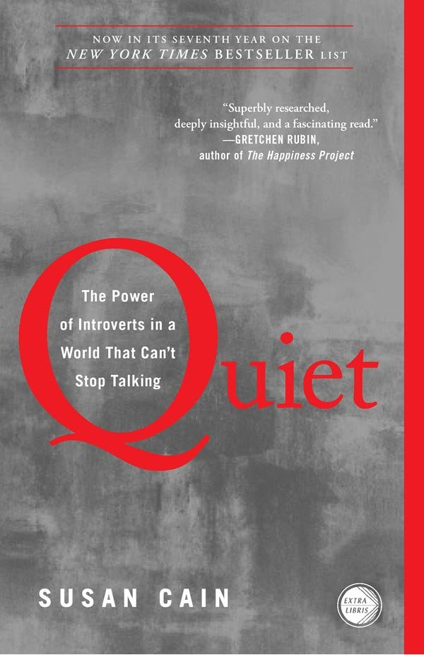 books for introverts quiet susan cain