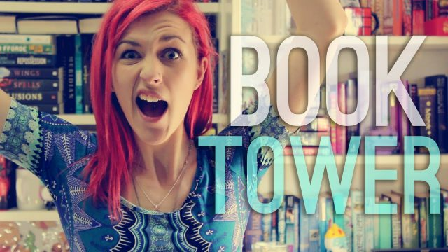 VIDEO: I Challenge You To The Book Tower Challenge!