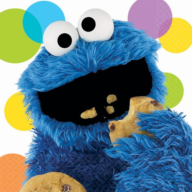 VIDEO: Sesame Street: Cookie Monster In The Library