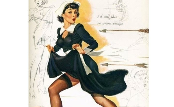 20 Bizarre Vintage Thanksgiving Pinups