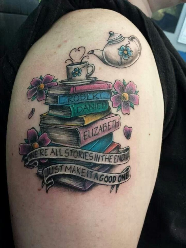 20 Seriously Cool Reading Related Tattoos