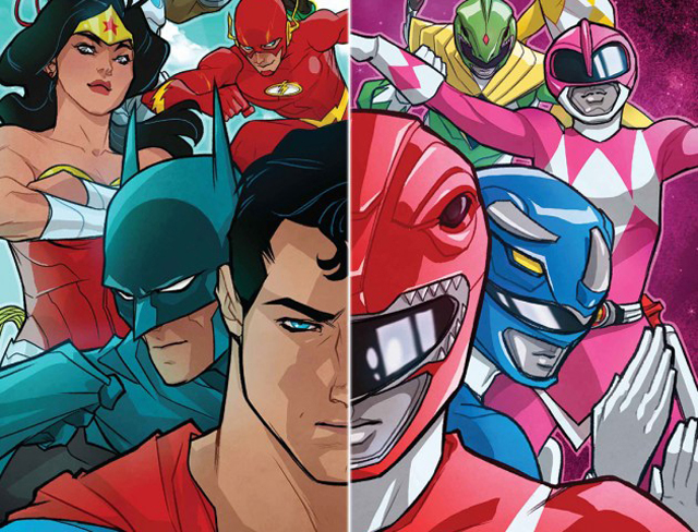 Comic Review: Justice League/Power Rangers Issue One By Tom Taylor And Stephen Byrne