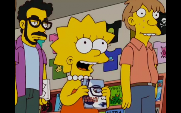ghost world Simpsons