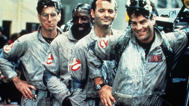 VIDEO: The Original Ghostbusters In The Library
