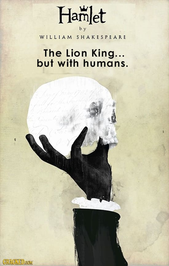 Hamlet Lion King Book Covers