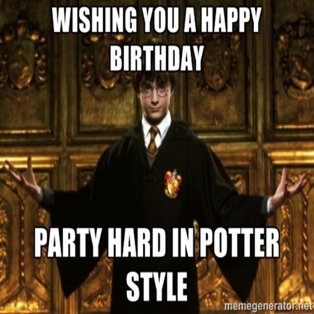 Happy Birthday Harry  Wickedly Awesome Ways To Cele Te Harry Potters Birthday