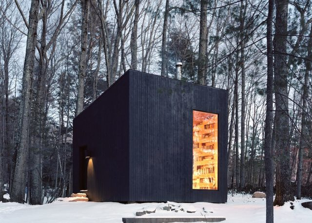 Fall In Love With This Vacation Home Cabin Designed For Book Lovers
