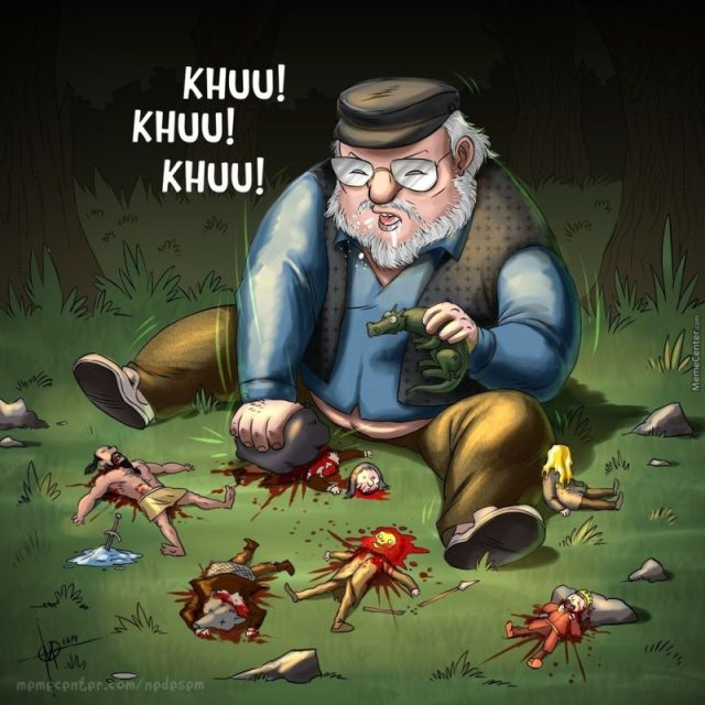 """The Little-Known Story George R. R. Martin Calls """"The Most Twisted Thing I Ever Wrote"""""""