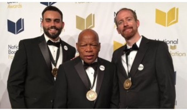 John Lewis Wins 4 Literary Awards For 'March: Book Three'