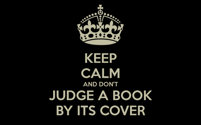 Yes! We Absolutely Judge Books By Their Covers