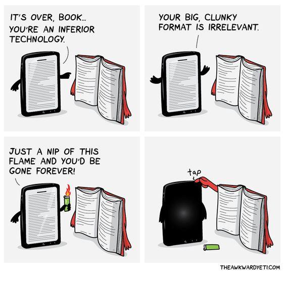 e books and reading