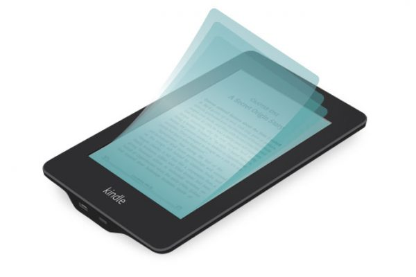 Kindle with screen guard