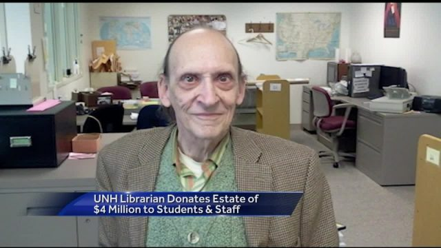 Librarian's Humbly Earned $4 Million Estate Left Entirely To The School Where He Worked