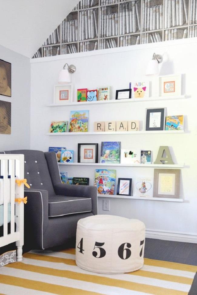 Baby Book Lovers: 10 Literature-Inspired Baby Nurseries