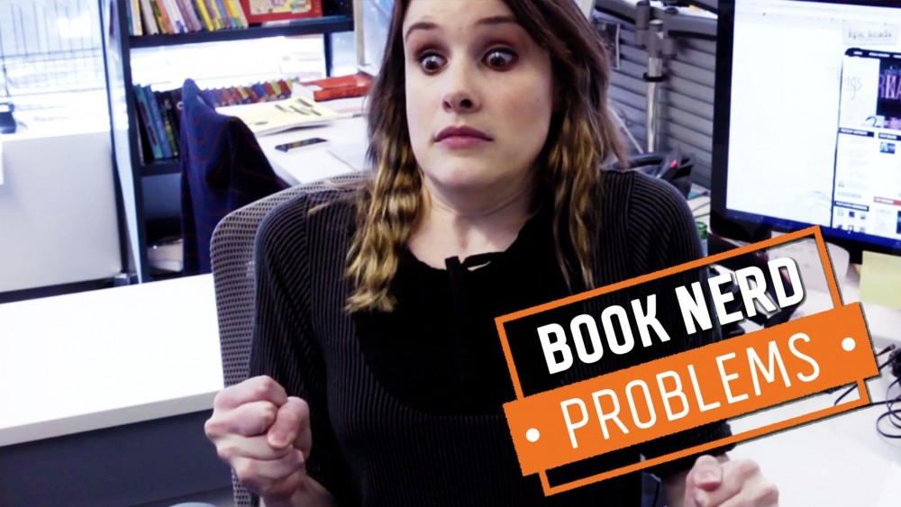 VIDEO: Book Nerd Problems | Living With Another Book Nerd (Part 1)