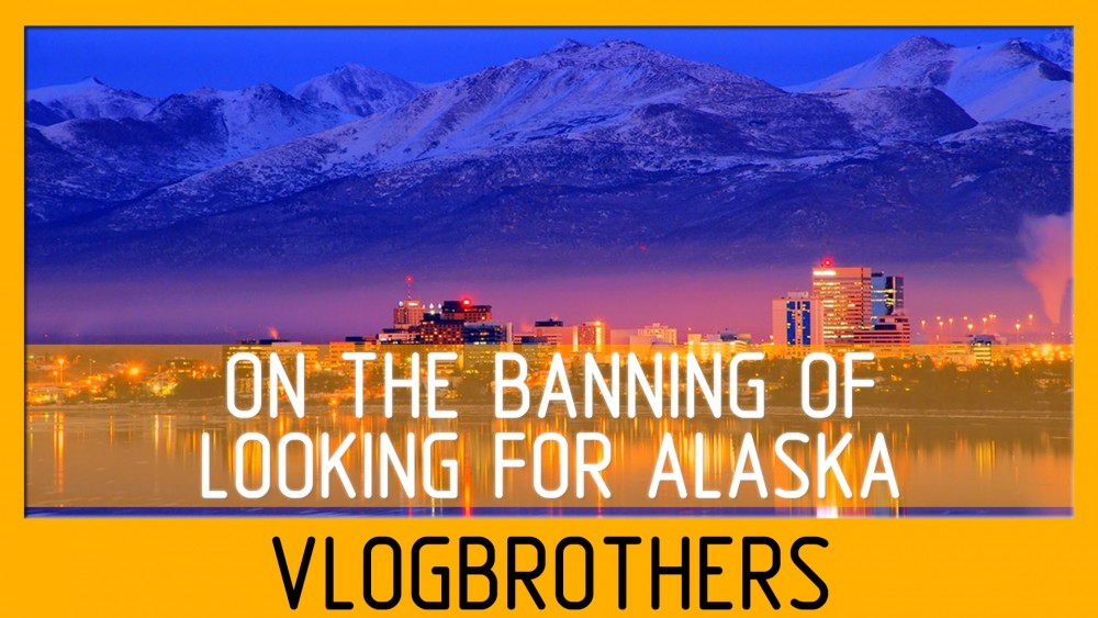 VIDEO: On The Banning of 'Looking For Alaska'