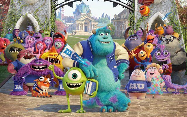 VIDEO: Monsters University Library Battle
