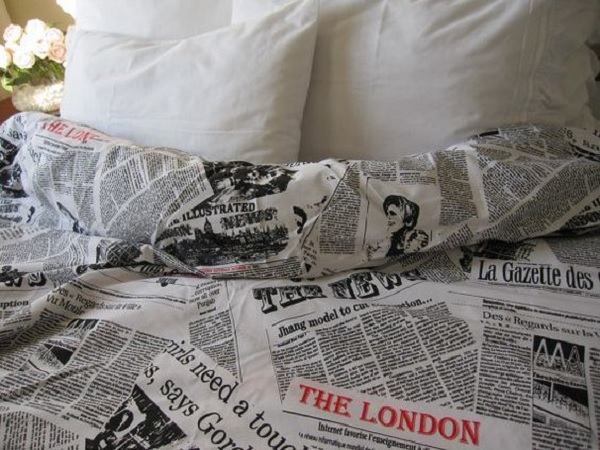 newspaperduvet