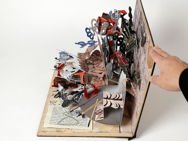 In Your Face! 8 Pop-Up Books For Grown Ups