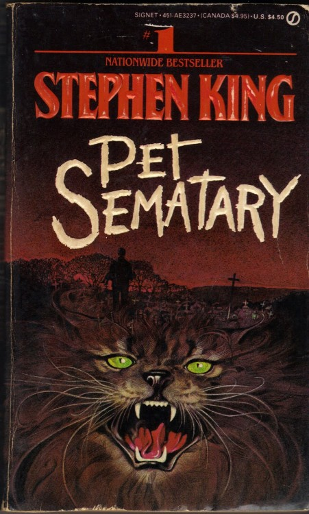 pet sematary 1st paperback 1984