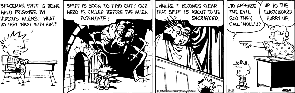 Source: Calvin & Hobbes Wiki