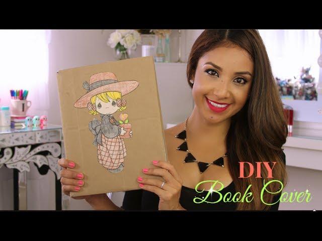 VIDEO: DIY Paper Bag Book Cover {Eco Friendly +Easy}