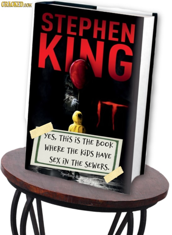 Stephen King It book covers
